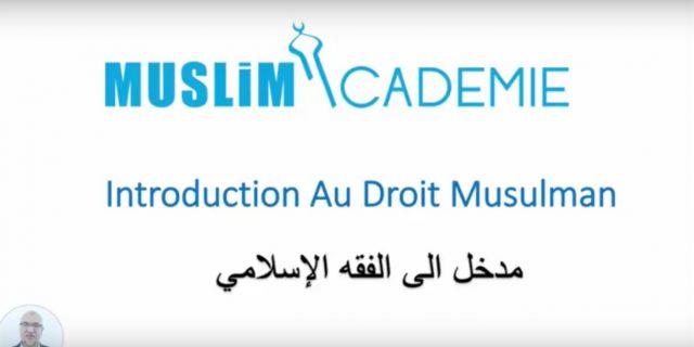 Introduction Au Droit Musulman-1