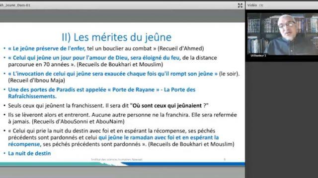 Fiqh As-Syam – Droit musulman du du jeûne – Mérites du jeûne